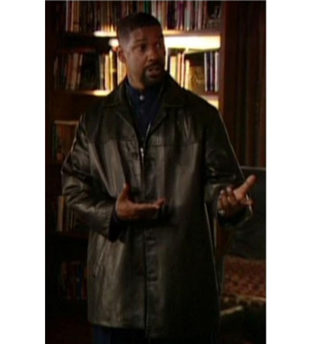 Training Day Denzel Washington Trench Jacket