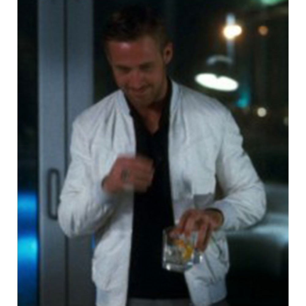 Crazy Stupid Love Ryan Gosling White Jacket Sale
