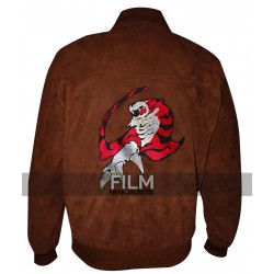 Ryo Hazuki Shenmue Brown Leather Jacket