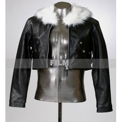 SQUALL LEONHART FINAL FANTASY COSTUME LEATHER JACKET