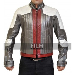 Batman Arkham Knight Game Red Hood Jacket Costume