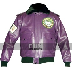 Batman Movie Joker Goons Bomber Leather Jacket