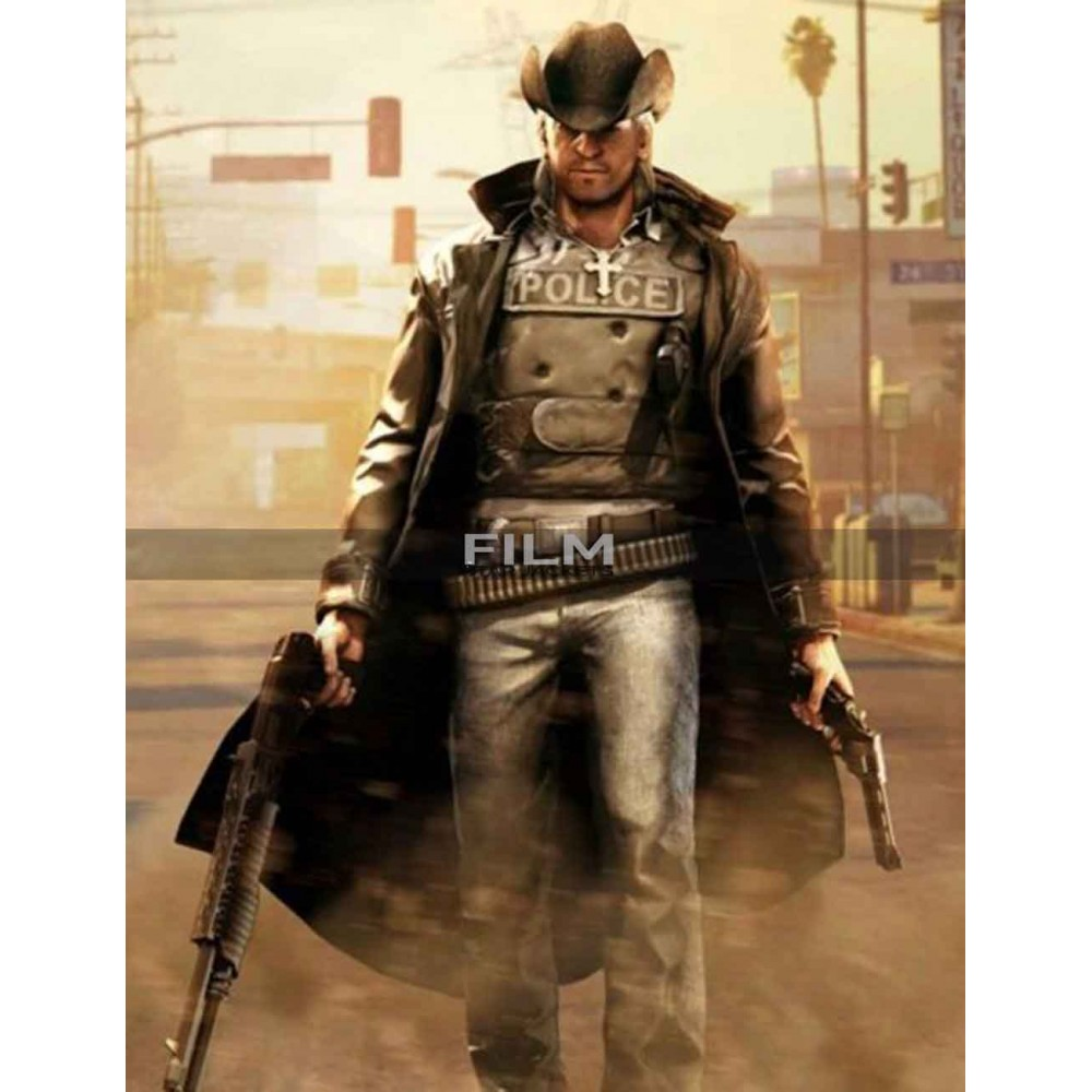 Cowboy Call of Juarez Bound in Blood Coat Coatume