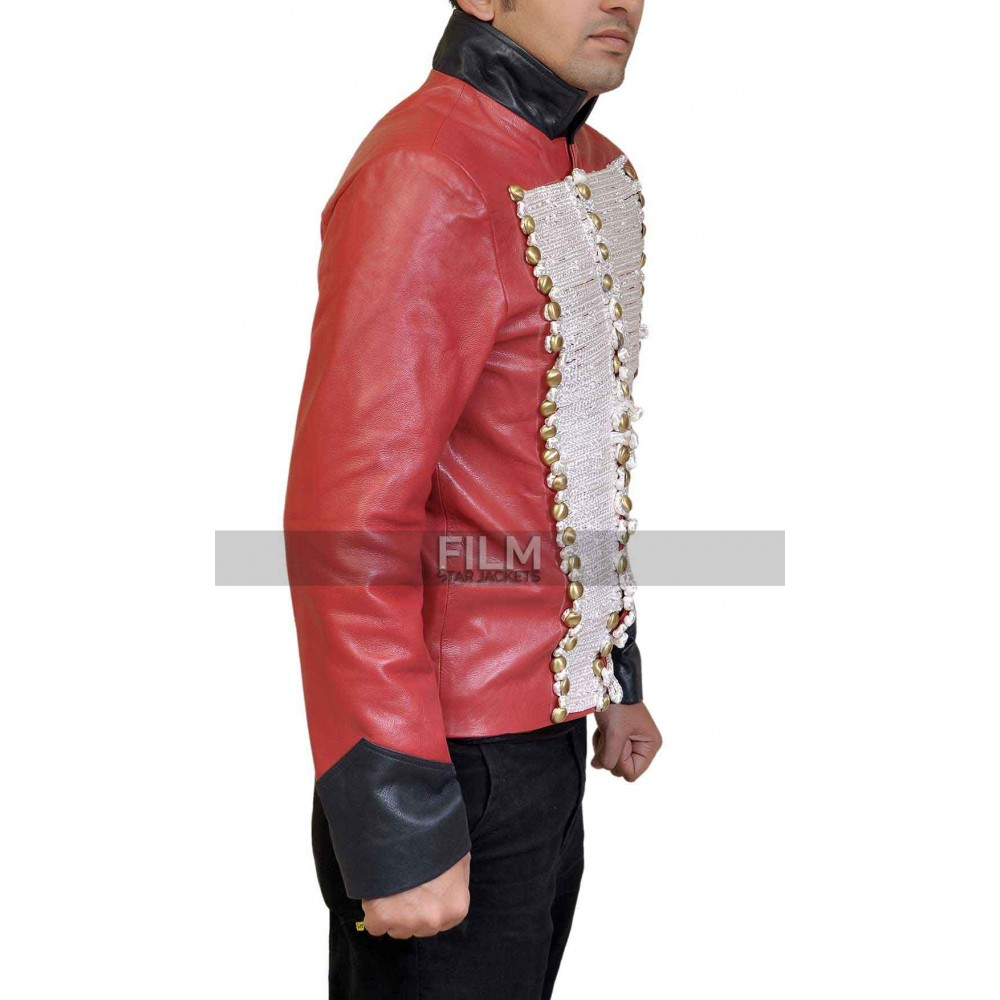 Torchwood Captain John Hart Red Leather Jacket