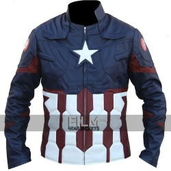 Captain America Civil War Chris Evans Leather Costume