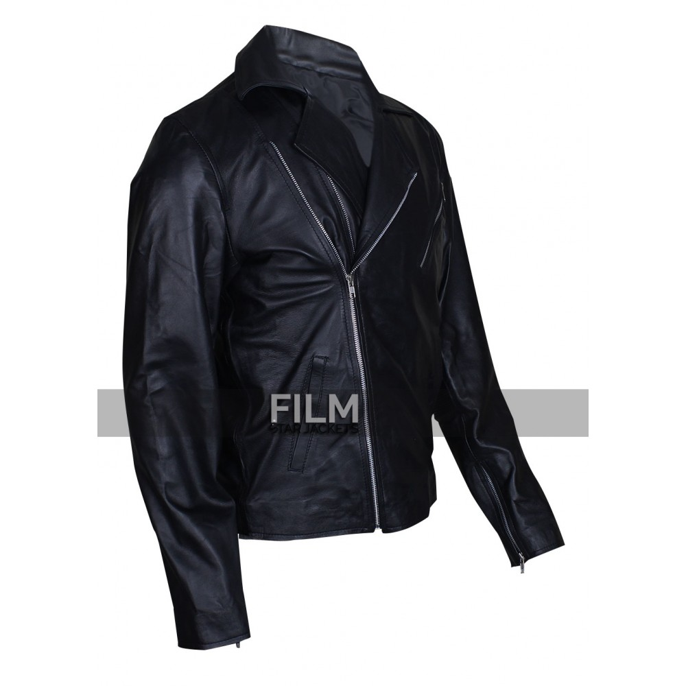 Captain Hook Once Upon Time S5 Black Jacket