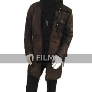 Dark Archer Arrow Malcolm Merlyn Leather Coat