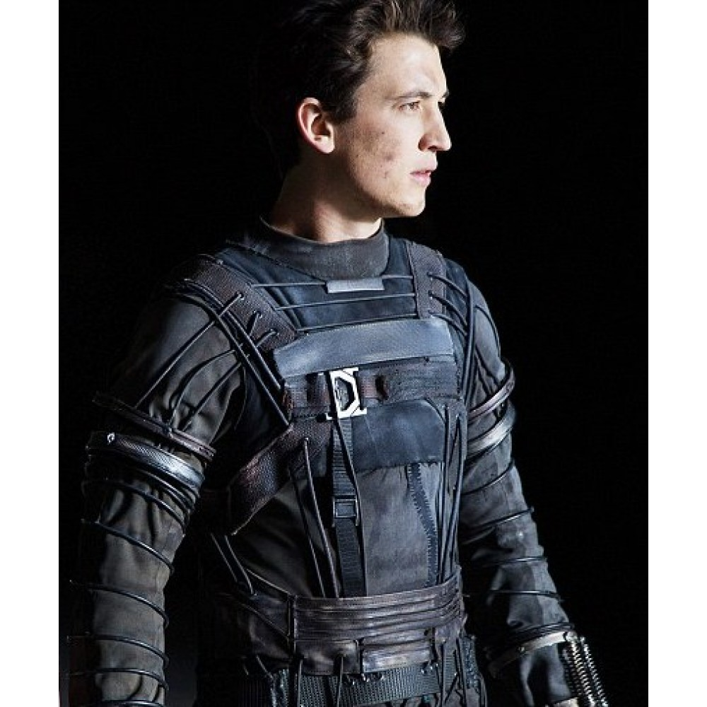 Fantastic Four 2015 Miles Teller (Mister Fantastic) Leather Costume