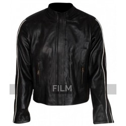 Chris Evans Fantastic Four Johnny Storm Black Jacket