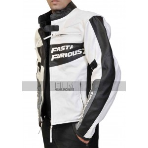 Fast and Furious 7 Premier Vin Diesel White Jacket