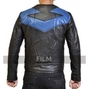 Nightwing Ismahawk Dick Grayson Leather Jacket