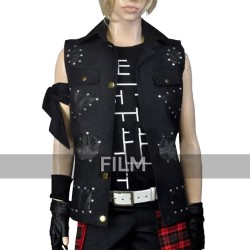 Prompto Argentum Final Fantasy XV Black Leather Vest