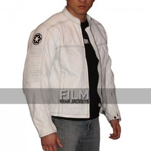 Star Wars Imperial Black&White Motorcycle Jacket