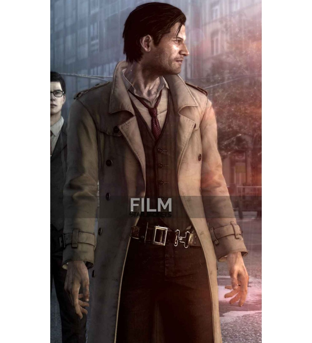 The Evil Within Sebastian Castellanos Costume Coat
