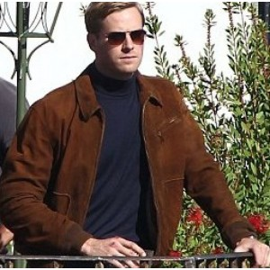 The Man From U.N.C.L.E Armie Hammer Jacket