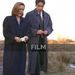 The X-Files David Duchovny (Fox Mulder) Trench Coat