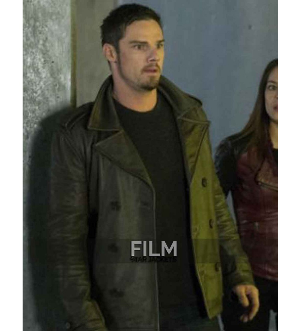 Beauty And The Beast Jay Ryan Vincent Keller Leather Jacket