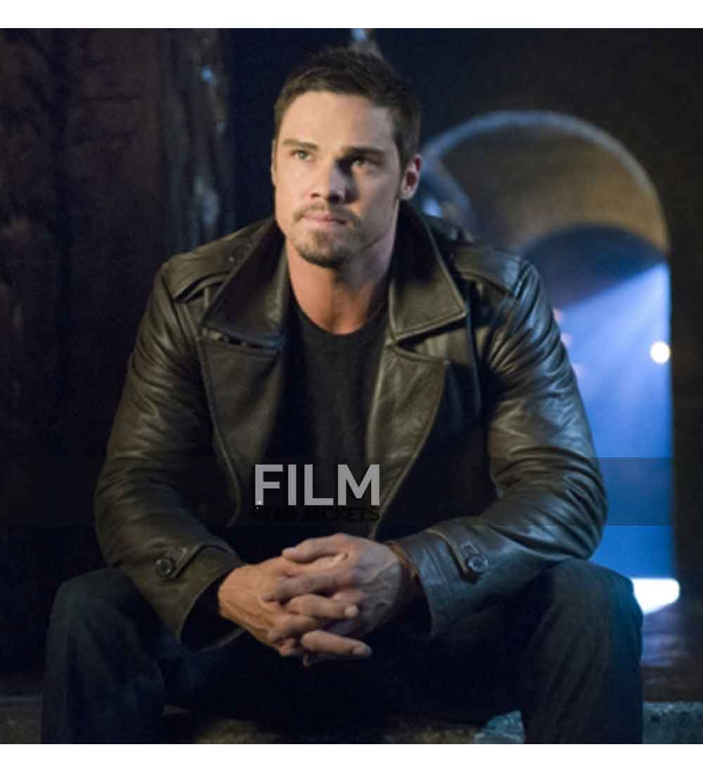 And The Beast Jay Ryan Vincent Keller Leather Jacket