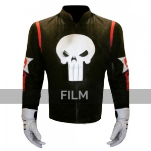 Punisher Skull Captain America Civil War Jacket