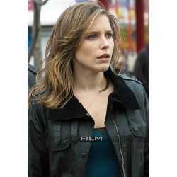 Chicago P.D Sophia Bush (Erin Lindsay) Cotton Fur Jacket