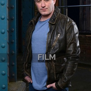 Eastenders Soap Daniel Coonan (Carl White) Brown Jacket