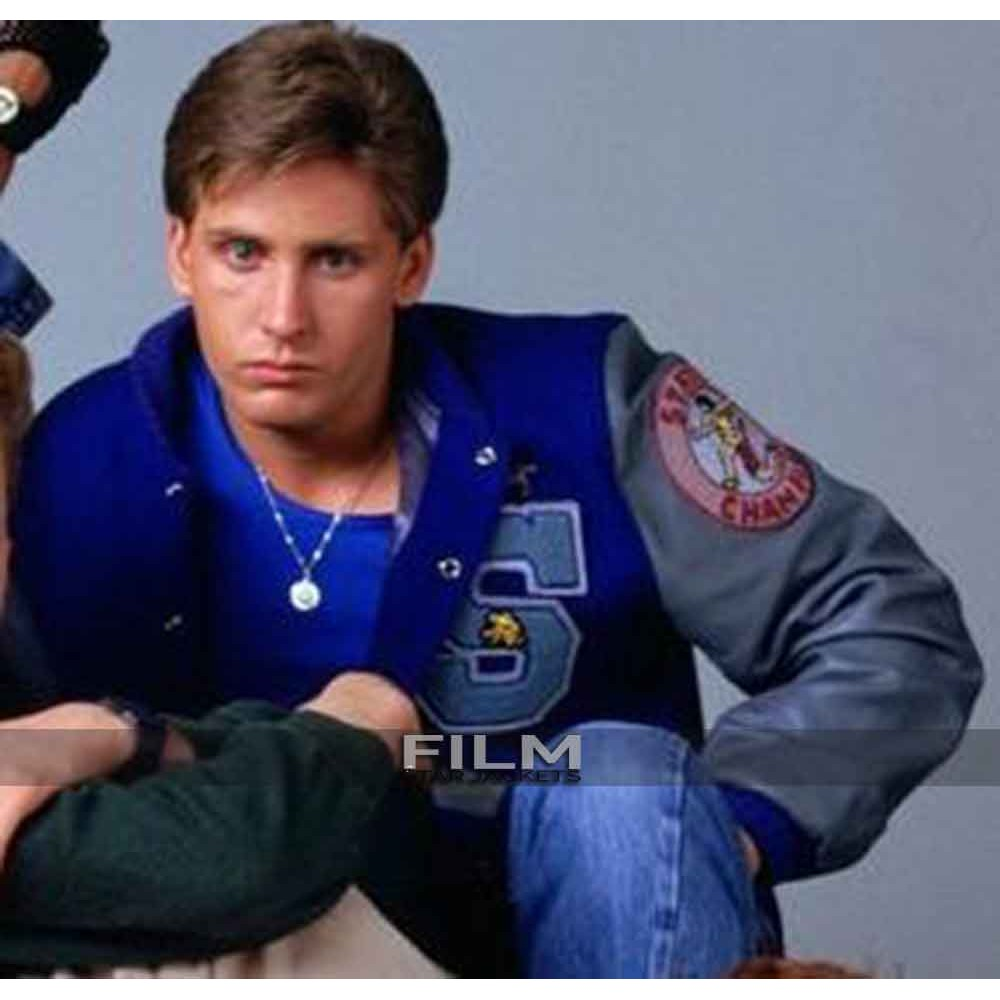 Andrew Clark Athlete The Breakfast Club Emilio Estevez  Jacket