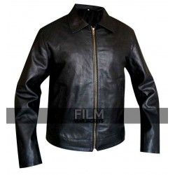 Faster Dwayne Johnson Rock (Driver) Leather Jacket