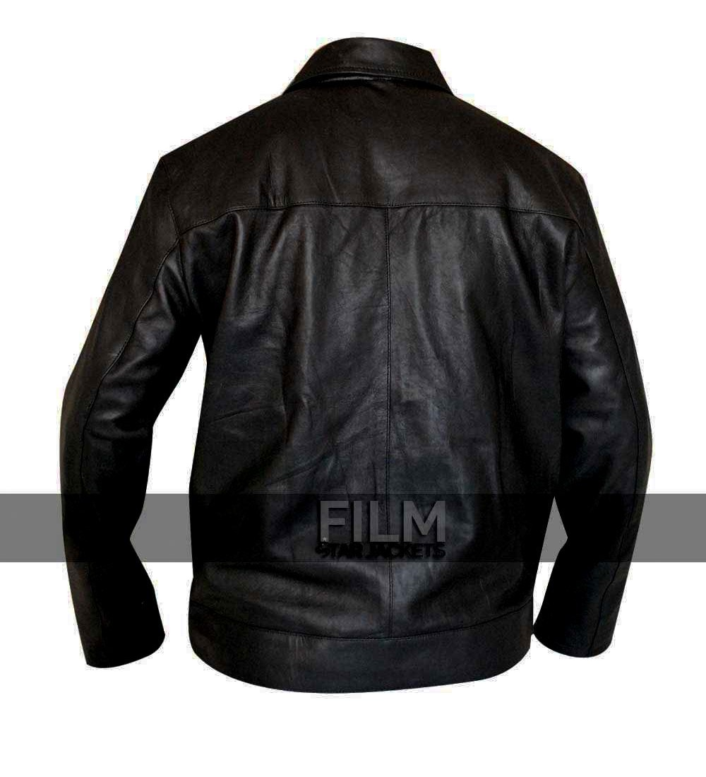685965274 Faster Dwayne Johnson Rock (Driver) Leather Jacket