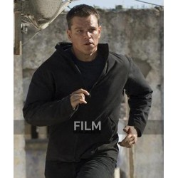 Jason Bourne Matt Damon Black Jacket