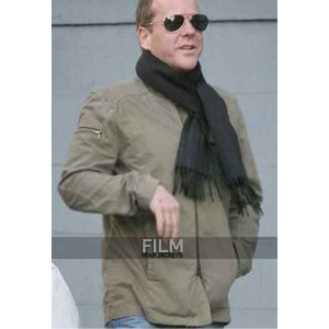 Mirrors Movie Kiefer Sutherland (Ben Carson) Cotton Jacket