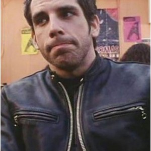 Mystery Men Ben Stiller (Mr. Furious) Leather Jacket