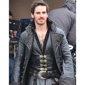 Once Upon A Time Captain Hook Costume Coat