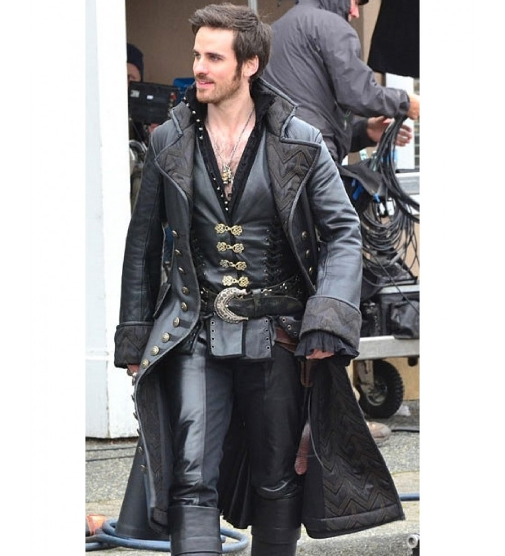Captain Hook Once Upon A Time: Once Upon A Time Captain Hook Costume Coat