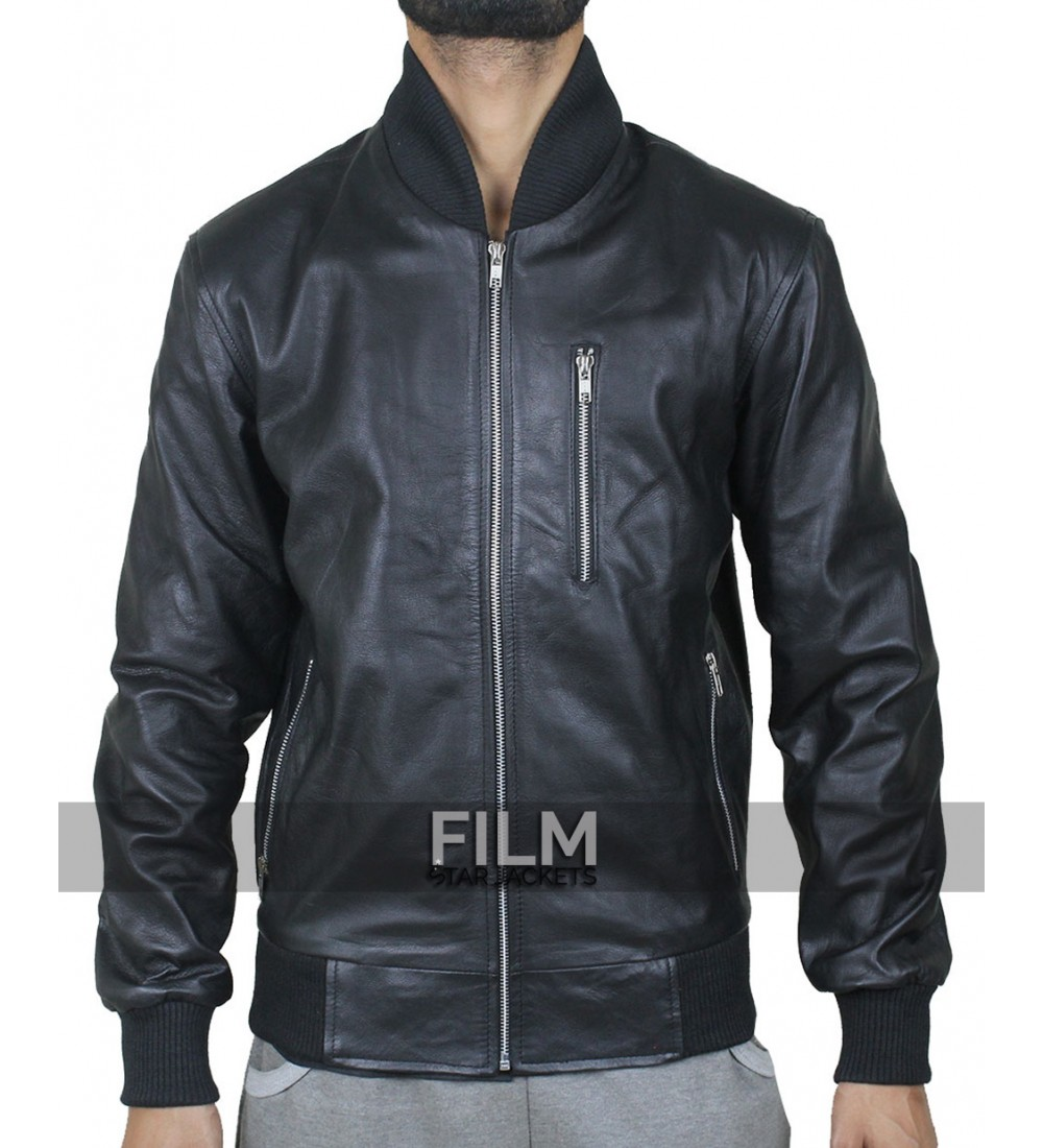 Edgar Ramirez Point Break Bodhi Leather Jacket
