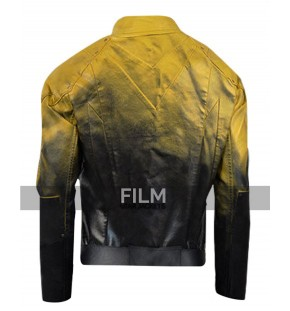 Superhero Flash Cosplay Leather Costume