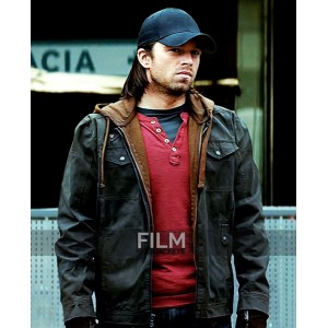 Civil War Winter Soldier Sebastian Stan Bucky Jacket