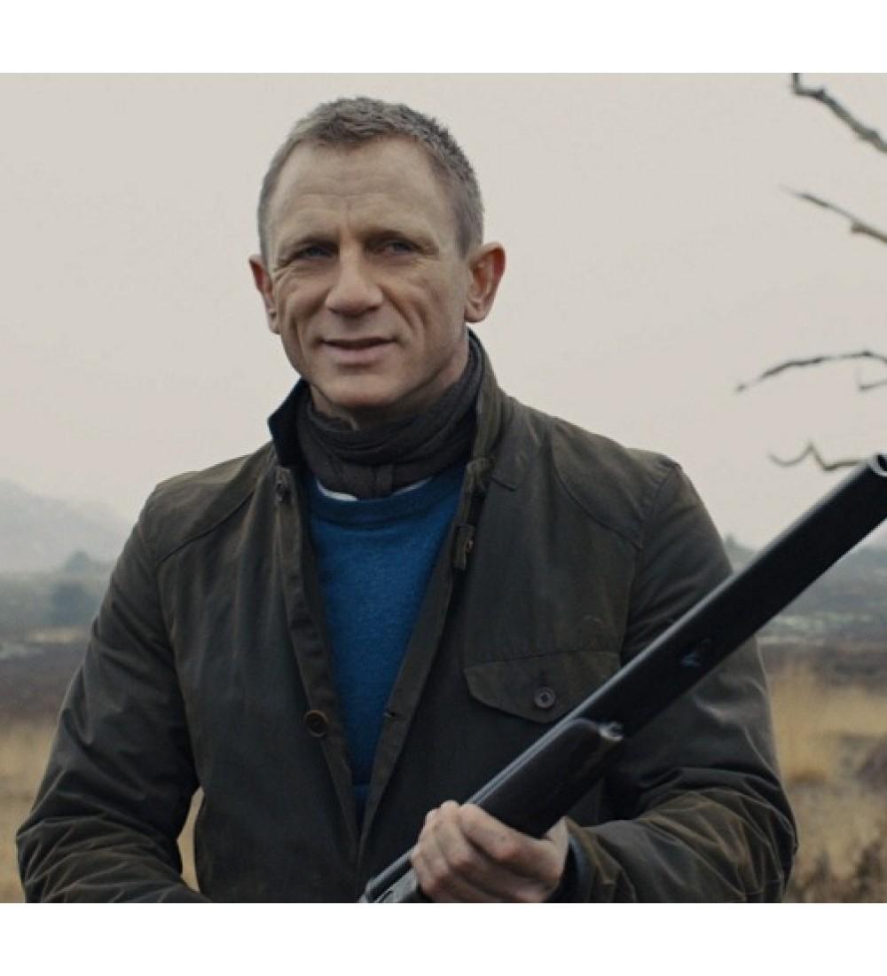 Skyfall Daniel Craig James Bond Veste Barbour Jacket