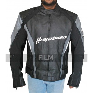Joe Rocket Suzuki Hayabusa Biker Leather Jacket