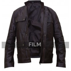 Triumph Lawford Motorcycle Brown Leather Jacket
