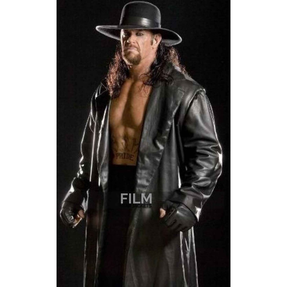 WWE Replica Undertaker Leather Trench Coat