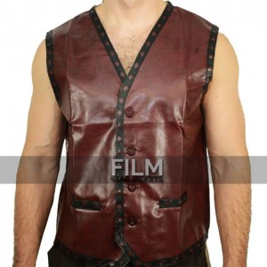 The Warriors Swan & Ajax Replica Brown Gang Vest