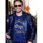James Franco Blue Leather Jacket