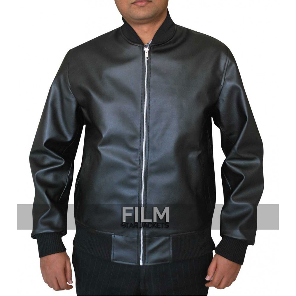 Movie Neighbors Leather Jacket Worn by Zac Efron