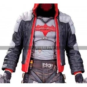 Batman Arkham Knight Red Hood White Leather Vest