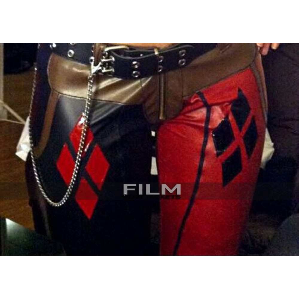 Harley Quinn Batman Arkham City Leather Pants