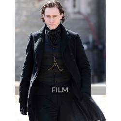 Crimson Peak Tom Hiddleston (Sir Thomas Sharpe) Black Coat
