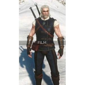 Cat School Gear Witcher 3 Geralt of Rivia Leather Vest