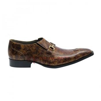 SHAGYA ARABIAN Horsebit Loafers Shoes With Buckle