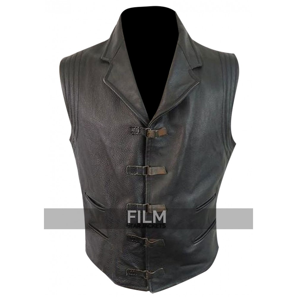 Van Helsing Hugh Jackman Leather Vest