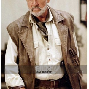 League of Extraordinary Gentlemen Allan Quatermain Brown Vest